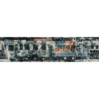 Тапетен фриз Кидс&Тийнс 2 urban art влакове тъмно синьо