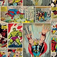 Kids@Home разм. 53см Marvel comic strip