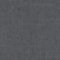 Тапет Фешън 4Уолс сребърни линии тъмен бетон