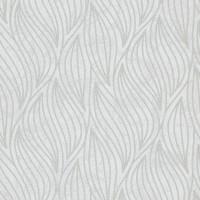 Тапет Карат сребърни вълни бяло