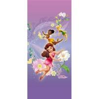 фототапет Disney Креатив Вер. 90x202 см, 1 ч., Феи в лилаво