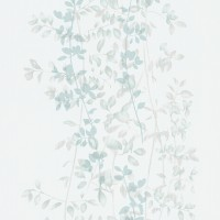 Тапет Фешън 4Уолс зелени клонки беж