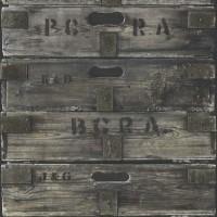 Тапет Криспи дървени кутии графит