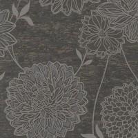 Тапет Естел цвете стомана
