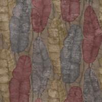 Тапет Ню Елегaнца цветни пера кафяво