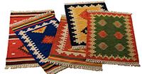 Вълнени и памучни килими